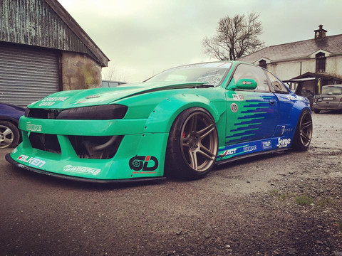 Side skirts S14 Drift